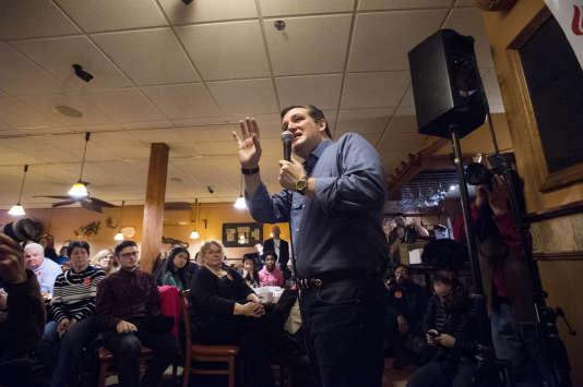 Ted Cruz à Keene dans le New Hampshire le 8 février 2016.