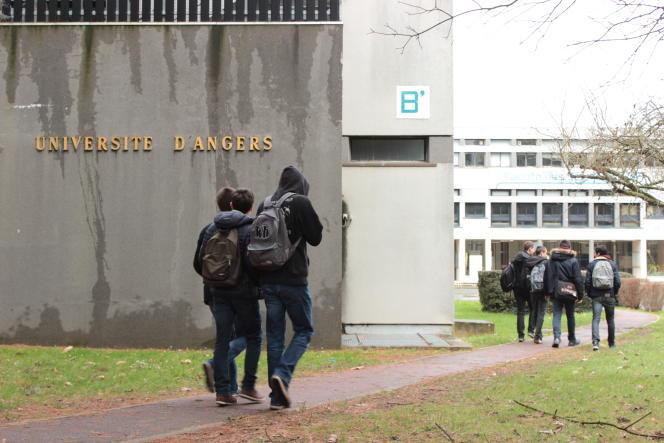 A Angers, 44,2 % des étudiants valident leur licence en trois ans, contre 27,2% pour l'ensemble des autres universités.
