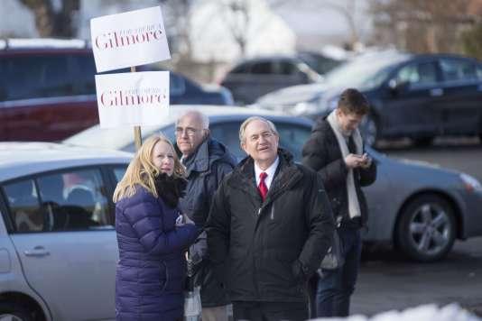 L'ancien gouverneur de Virginie a obtenu 133 voix dans le New Hampshire et 12 dans l'Iowa.