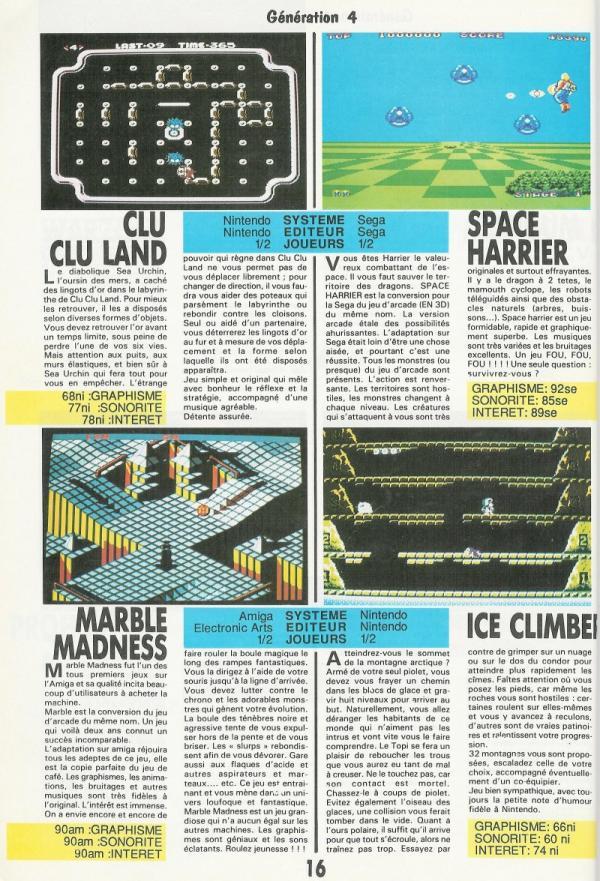 Note sur 100, tests à gogo et journalistes autodidactes : «Gen4», en 1987, pose le socle de la presse jeu vidéo pour deux décennies.