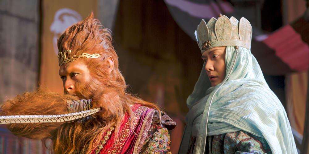 Les journalistes de la rubrique Cinéma du « Monde » n'ont pas pu voir cette suite des aventures du Roi Singe, une saga inspirée de l'une des histoires les plus populaires de la littérature chinoise, datant du XVIe siècle, sous la dynastie Ming.