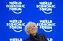 TOPSHOT - International Monetary Fund (IMF) Managing Director Christine Lagarde smiles during a session of the World Economic Forum (WEF) annual meeting on January 23, 2016. / AFP / FABRICE COFFRINI