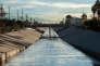 La Los Angeles River.