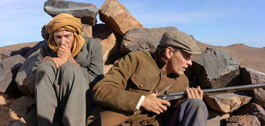 Reda Kateb (l'Arabe) et Viggo Mortensen (Daru) dans «Loin des hommes», de David Oelhoffen en 2014.