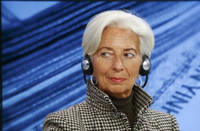 A Davos, Christine Lagarde, la patronne du FMI, a mis en garde contre la tentation de«tourner le dos à la mondialisation».
