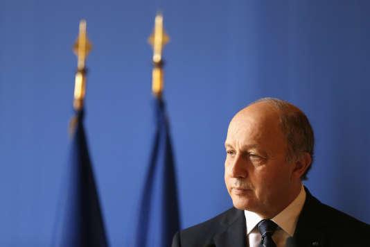 L'ancien ministre des affaires étrangères, Laurent Fabius, le 23 octobre 2012.