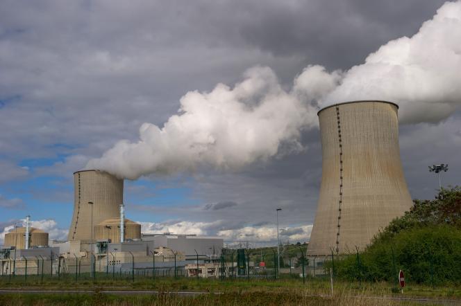 Centrale nucléaire de Civaux (Vienne), en novembre 2015.
