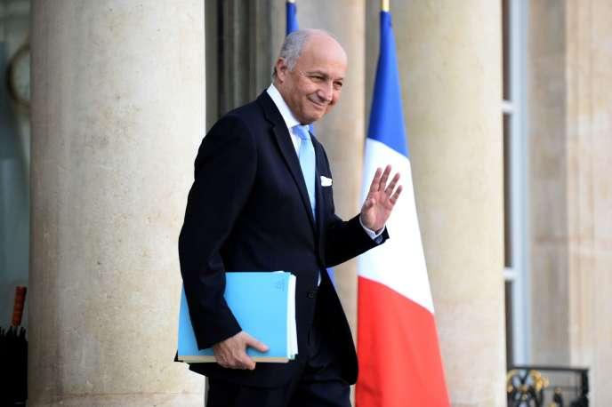 Laurent Fabius, le 10 février.
