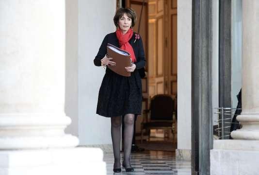 Marisol Touraine, ministre de la Santé le 3 février 2015 à Paris.  AFP PHOTO / STEPHANE DE SAKUTIN