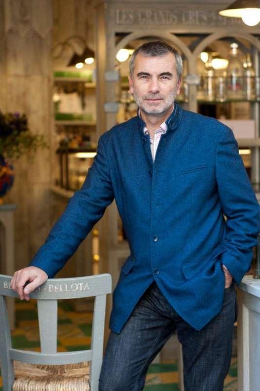 Philippe Poulachon, importeur-distributeur de produits espagnols.