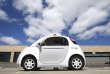 La voiture sans-chauffeur de Google, le 13 mai 2015 à Moutain View en Californie.