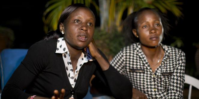 Joy Sakari et Francisca Koki Manunga, le 4 février à Embu au Kenya.