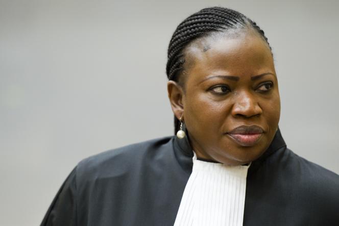 La procureure de la Cour pénale internationale, Fatou Bensouda.