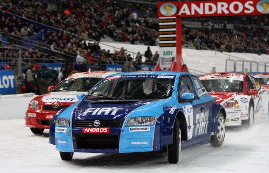 La voiture de Franck Lagorce au Trophée Andros en 2006.