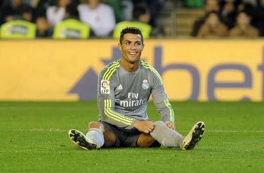 Le Madrilène Cristiano Ronaldo le 24 janvier 2016 à Séville.