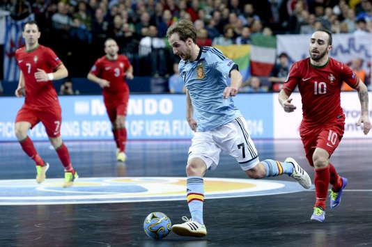 Match entre l'Espagne et le Portugal lors de l'Euro 2015.