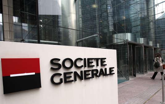 Le siège de la Société générale, le 13 février 2013 à Paris.