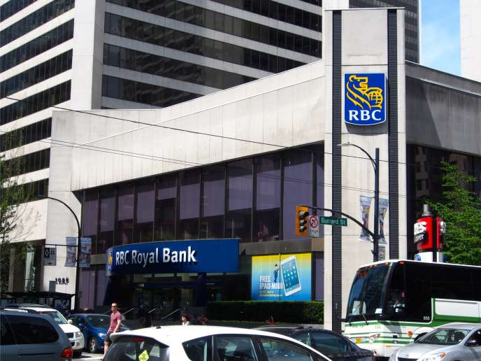 Une agence de la Banque royale du Canada, à Vancouver.