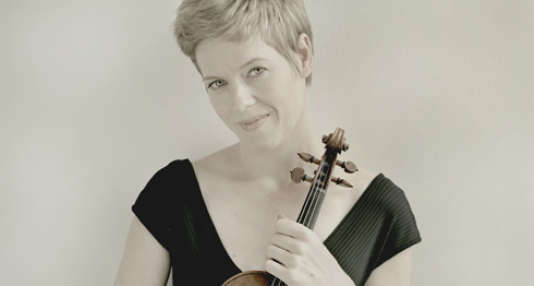 La violoniste allemande Isabelle Faust jouera Salle Gaveau le 18 février.