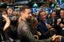 Jack Dorsey, le patron et cofondateur de Twitter, en visite à la Bourse de New York, en novembre 2015.