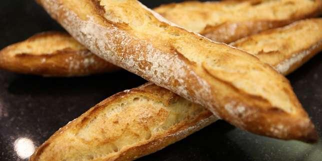 Astuce de boulanger comment pr parer une baguette - Comment couper des baguettes en angle ...