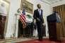 Le Président des Etats-Unis Barack Obama le 17 janvier 2016 à la Maison Blanche.