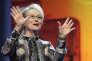 Le jury de la 66e Berlinale est présidé par l'actrice américaine Meryl Streep (ici lors de la cérémonie d'ouverture à Berlin, le 11 février 2016).