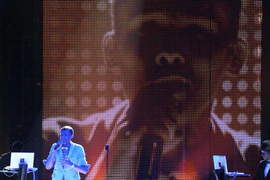 L'artiste belge Stromae aux Victoires de la musique à Lille, en février 2011.