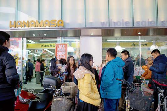 4,99 millions de Chinois ont visité le Japon en 2015, un nombre en progression de 107,3 % sur un an.