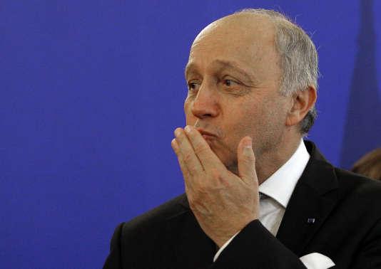 Laurent Fabius, le 12 février