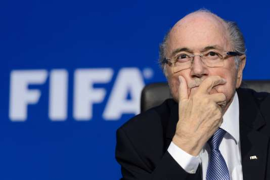 Sepp Blatter, alors président de la FIFA, le 20 juillet 2015.