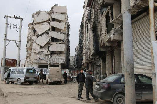 A Alep, le 11 février.