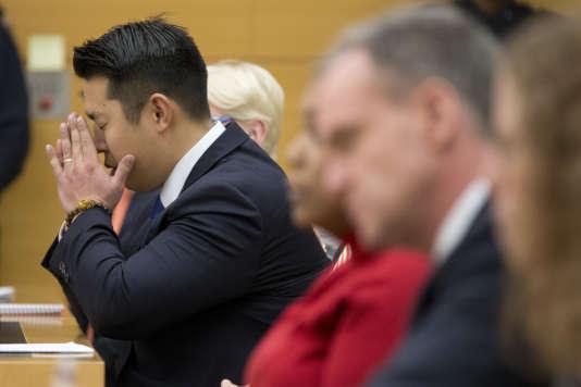 Peter Liang a été reconnu coupable, le jeudi 11 février.