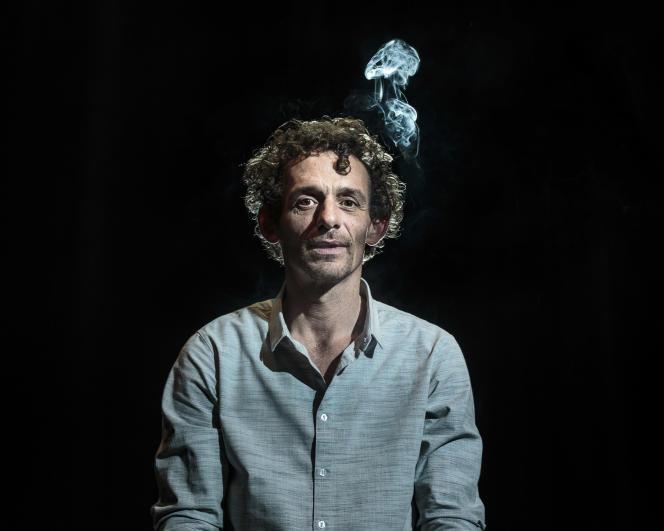 Sébastien Barrier au théâtre Le Grand T à Nantes, le 4 février 2016 .