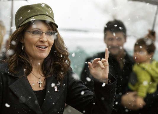 Sarah Palin le 5 décembre 2009 à Fairfax, en Virginie.