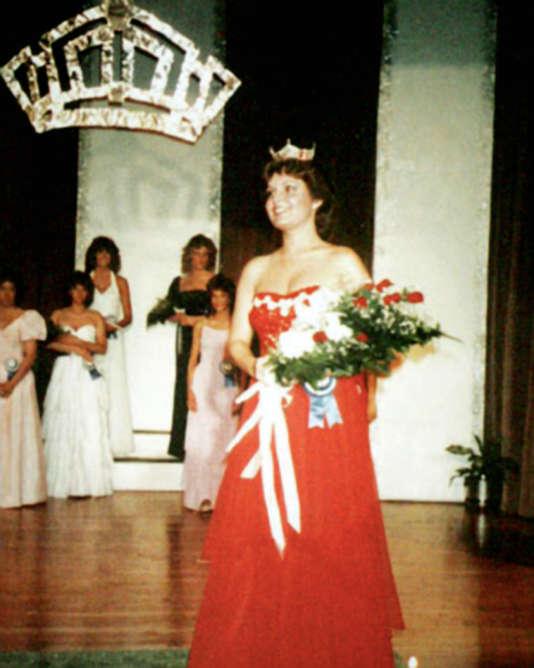 Sarah Palin lors d'un concours de Miss en 1984.