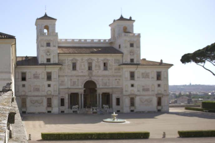 La Villa Médicis à Rome en juin 2012.