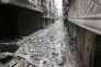 Une rue d'Alep en Syrie le 11 février 2016.