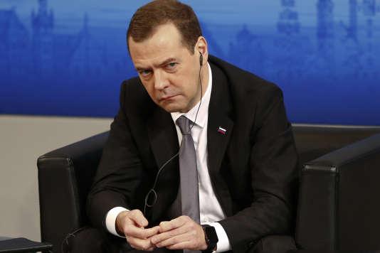 Dmitri Medvedev, à Munich, le 13février.