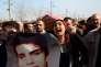 Enterrement, le 10 février à Diyarbakir, d'un jeune Kurde âgé de 16ans, tué lors d'une manifestation à Cizre.
