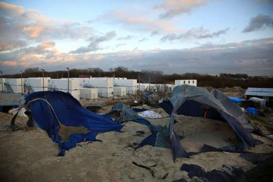 Dans la «jungle» de Calais, le 3 février.