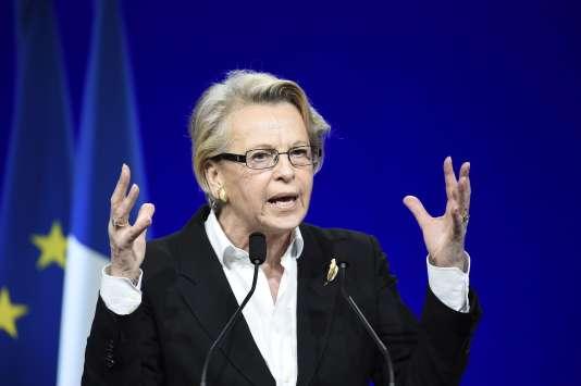 Michèle Alliot-Marie, le 13 février.
