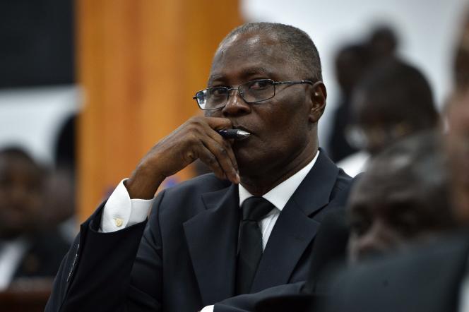 Jocelerme Privert a été élu président provisoire d'Haïti le 14 février.