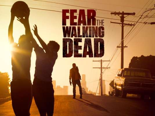 L'affiche de la série dérivée de « The Walking Dead » « Fear the Walking Dead ».