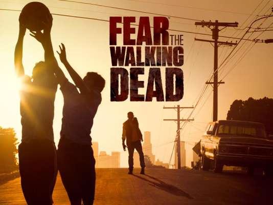 L'affiche de la série dérivée de «The Walking Dead» «Fear the Walking Dead».