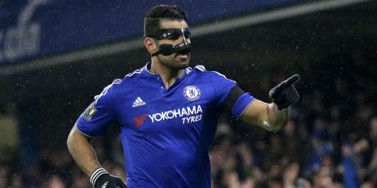 Diego Costa après son but face à Newcastle, le 13 février.