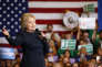 Hillary Clinton en meeting à Henderson (Nevada), le 13 février.
