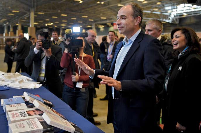 Jean-François Copé lors du Conseil national des Républicains à Paris le 13 février 2016.