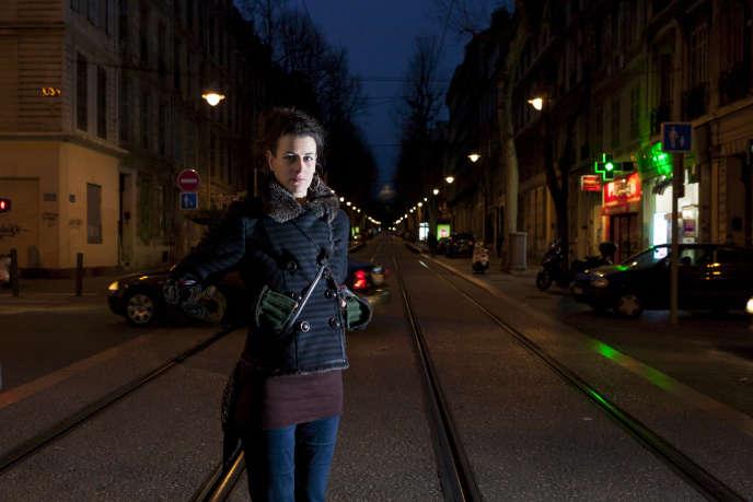 Charlotte Magri, à Marseille, en février 2016.