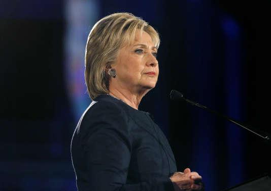 La candidate démocrate Hillary Clinton à Denver, au Colorado, le 13 février 2016.